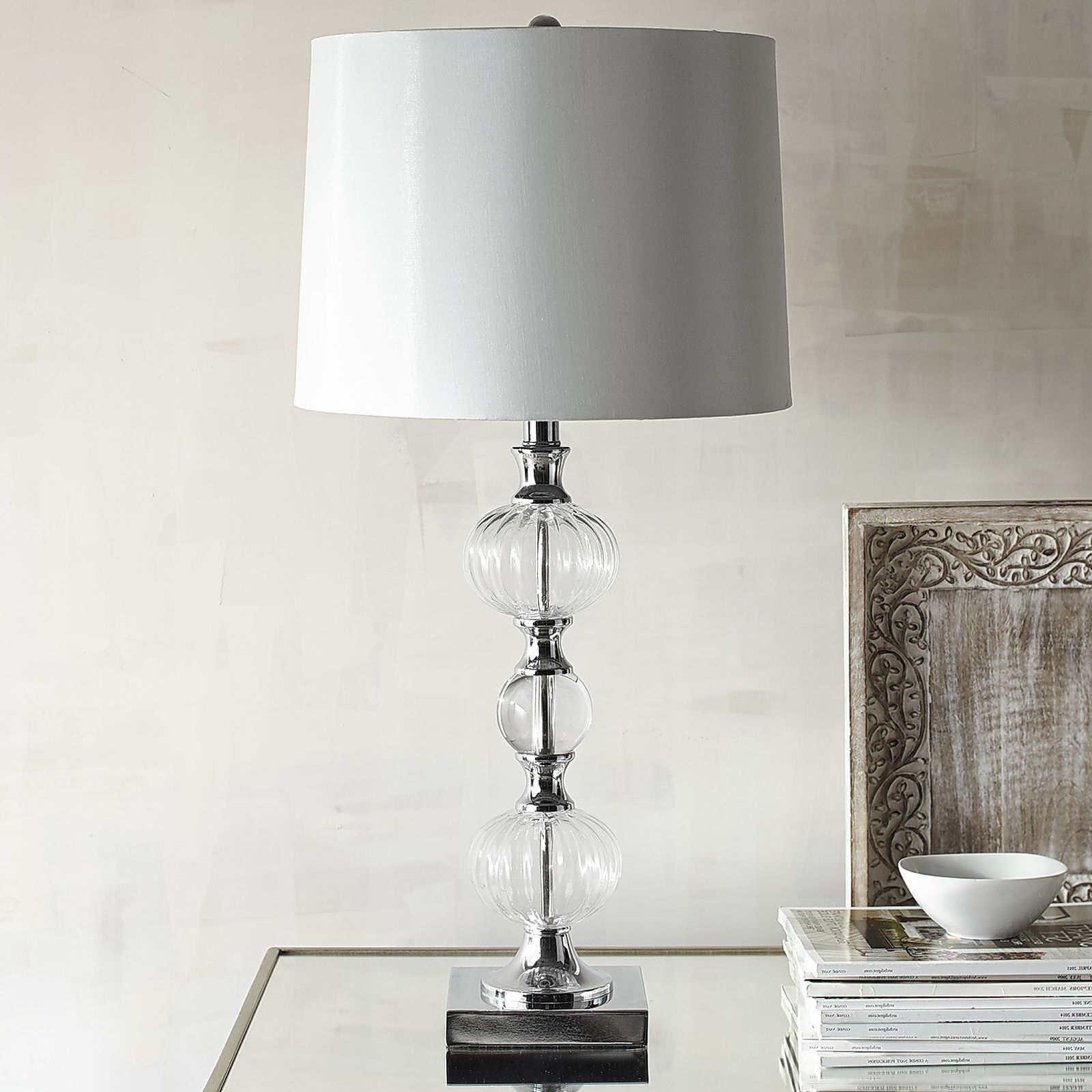 Clear Table Lamps For Living Room In Preferred 55 Most Blue Chip Chrome Table Lamp Tall Lamps For Living Room White (View 7 of 20)