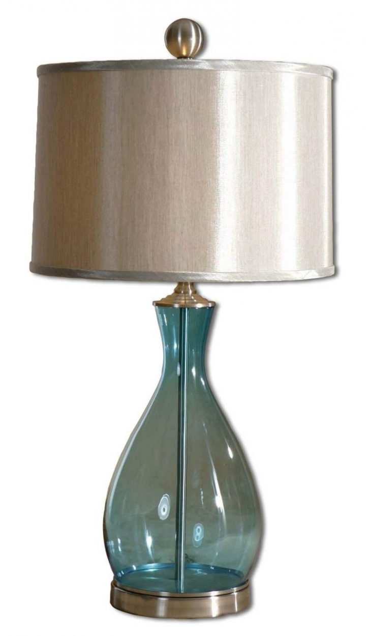Clear Table Lamps For Living Room With Most Up To Date Bedside Lamps: Clear Glass Table Lamps For Living Room (View 10 of 20)