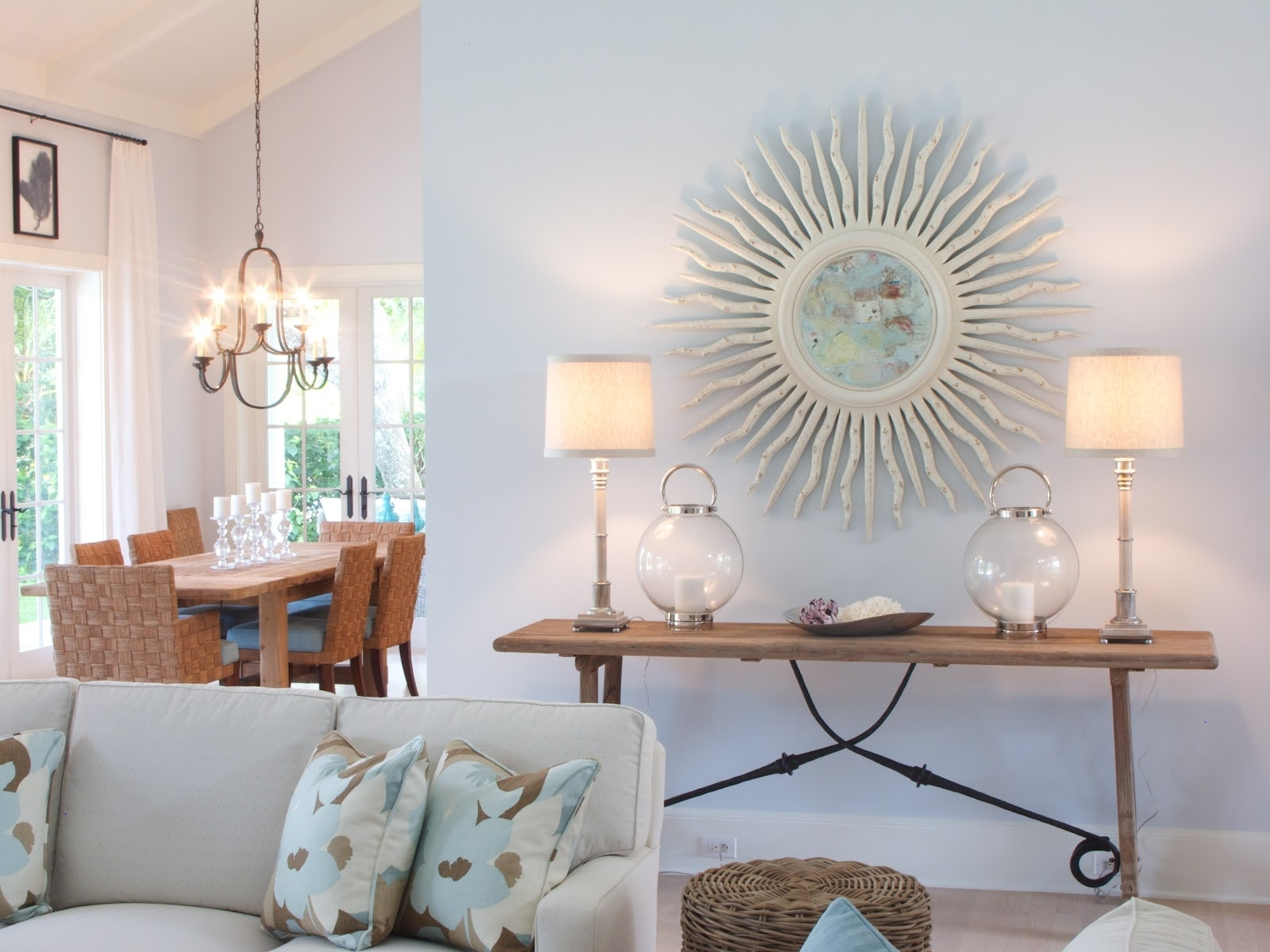 Coastal Living Room Table Lamps Within Best And Newest Beach Themed Furniture Stores Dining Room House Living Style (View 8 of 20)