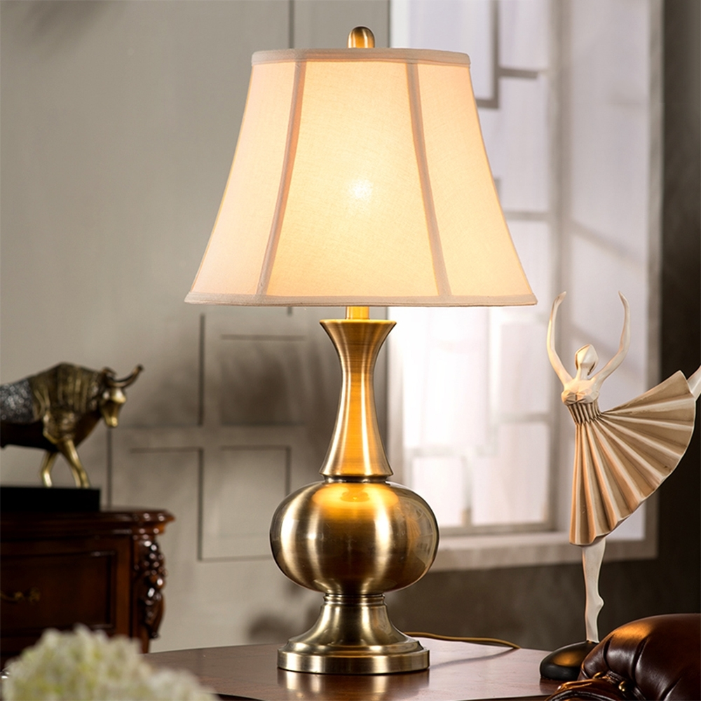 Contemporary Table Lamps For Bed Room Will Change The Look Of Your Throughout Fashionable Large Living Room Table Lamps (View 3 of 20)