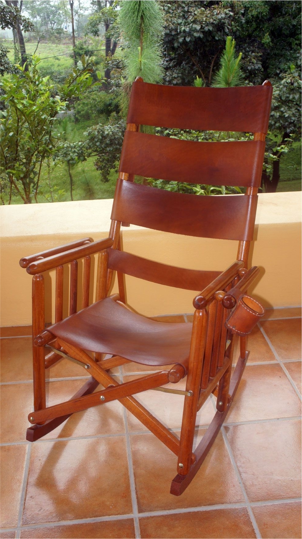Costa Rican Rocking Chair – High Back I So Regret Not Buying This With Regard To Famous Rocking Chairs With Lumbar Support (View 16 of 20)