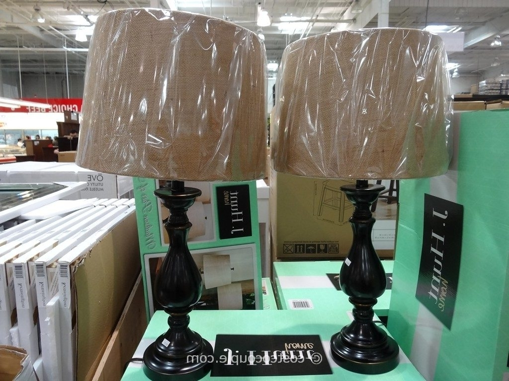 Costco Living Room Table Lamps Intended For Most Current Table Lamps: J Hunt Madison Table Lamp Set Throughout Costco Table (View 2 of 20)