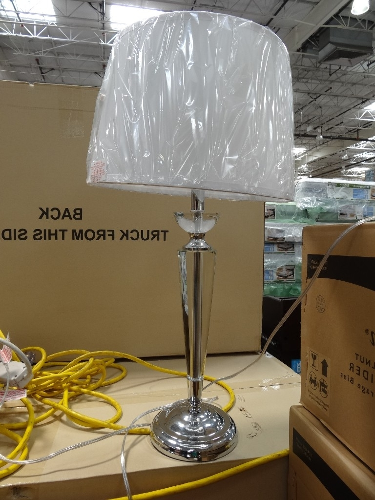 Costco Living Room Table Lamps Regarding Current Lamp : Floor Lamps Costco View For Living Room At Sale Sold Crystal (View 6 of 20)