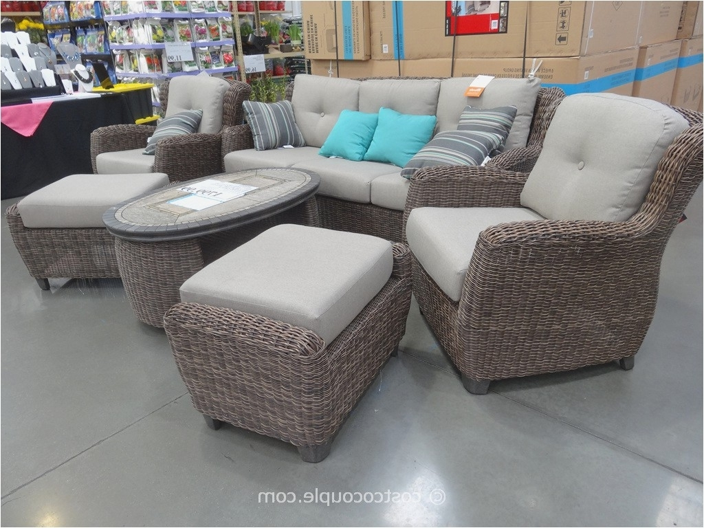 Costco Patio Conversation Sets Within Most Recently Released Costco Patio Chairs In 2018 Kirkland Patio Furniture Furniture Ideas (View 8 of 20)