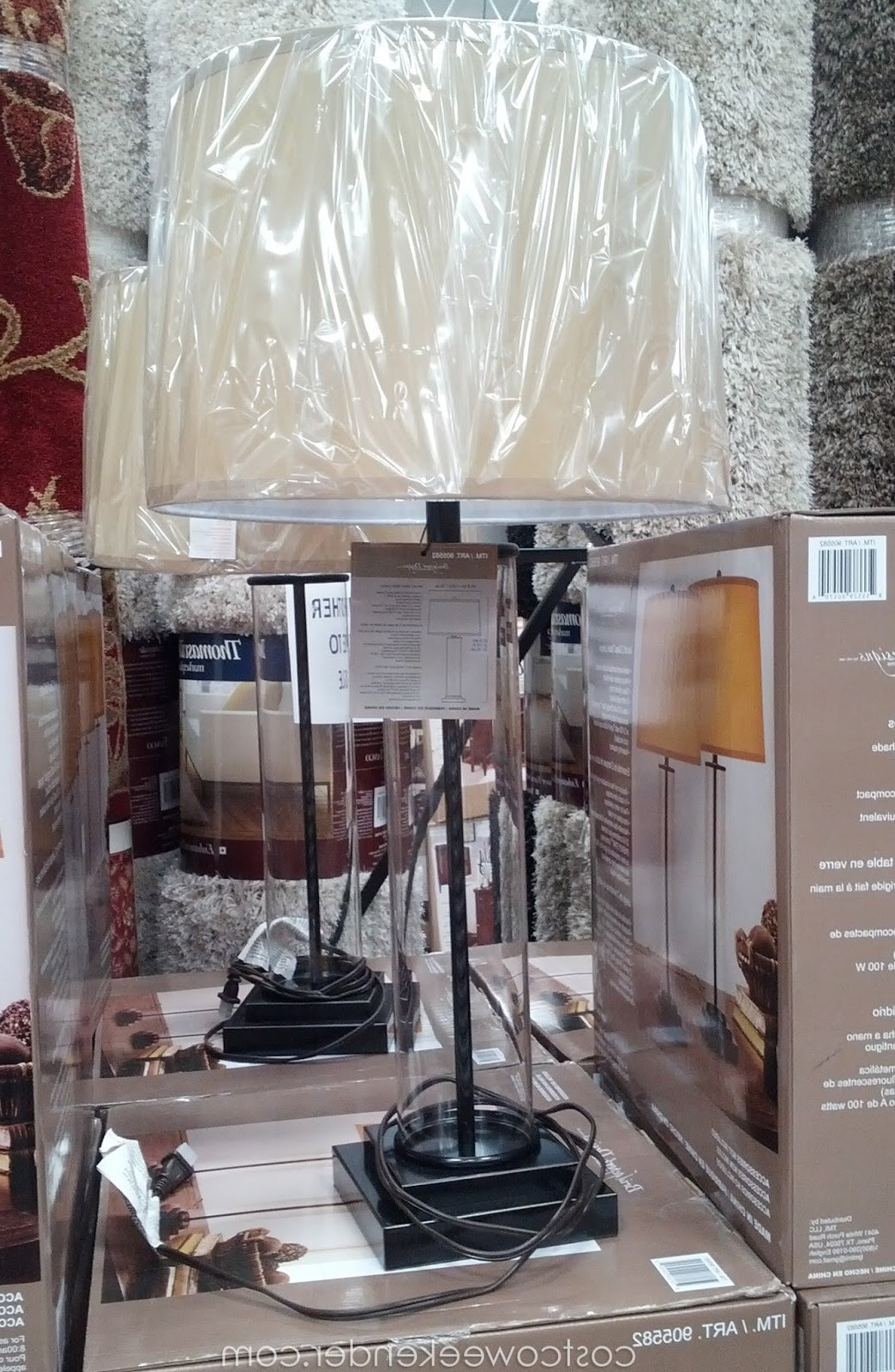 Costco Pertaining To Costco Living Room Table Lamps (View 4 of 20)