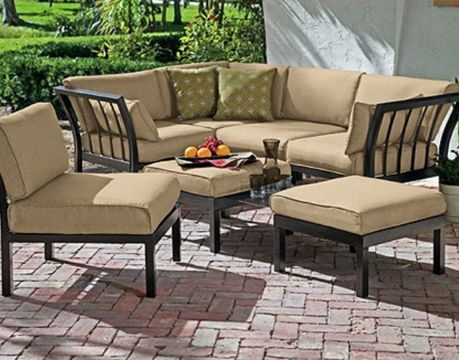 Costco Sunroom Furniture Patio Conversation Sets Clearance Target Within Famous Patio Conversation Sets At Target (View 4 of 20)