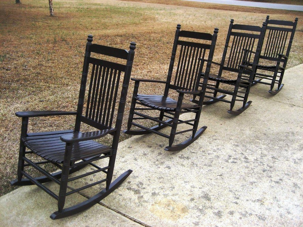 Cracker Barrel Rocking Chairs Porch — Jayne Atkinson Homesjayne Throughout Favorite Rocking Chairs At Cracker Barrel (View 2 of 20)