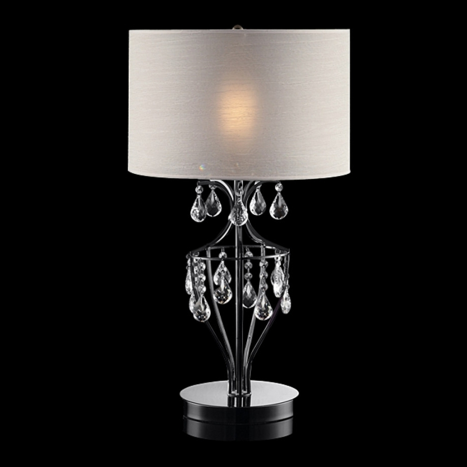 Crystal Living Room Table Lamps (View 11 of 20)