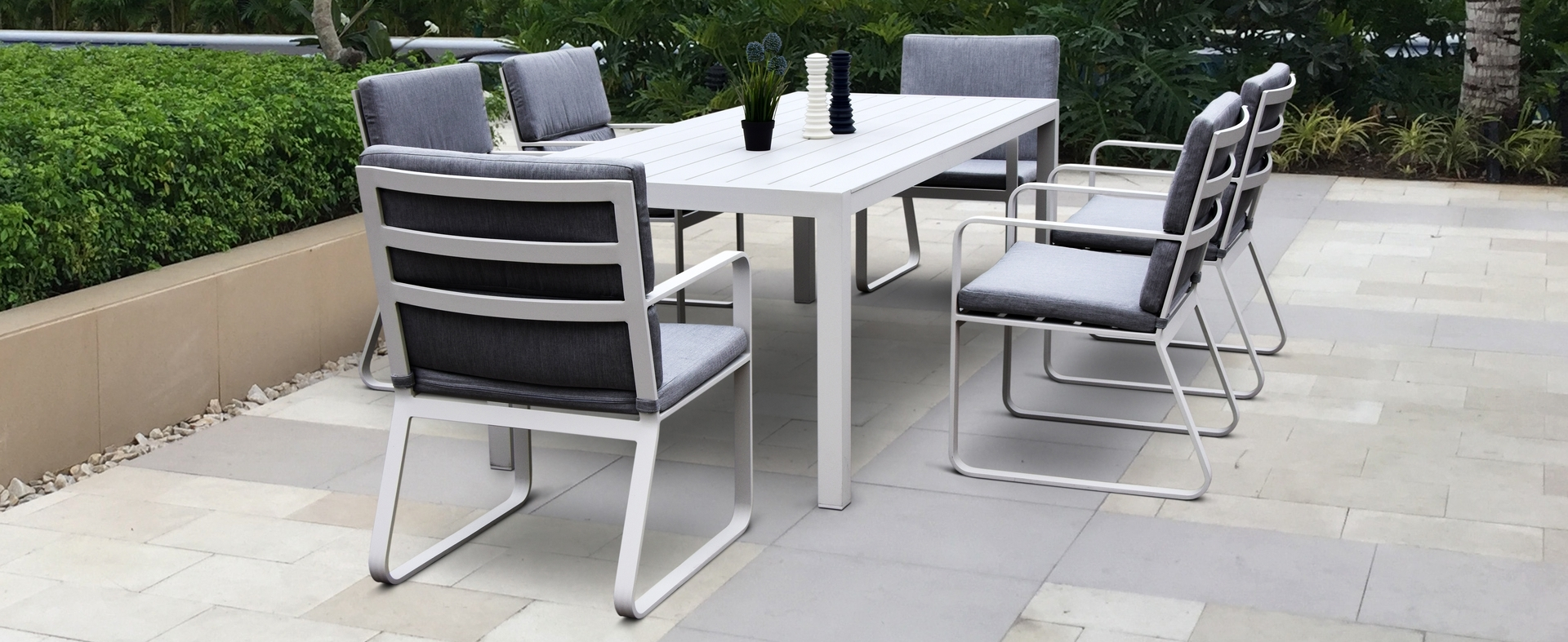 Current Cast Aluminum Patio Conversation Sets Intended For Nice Modern Aluminum Outdoor Furniture Ab Collections Cast Patio (View 7 of 20)
