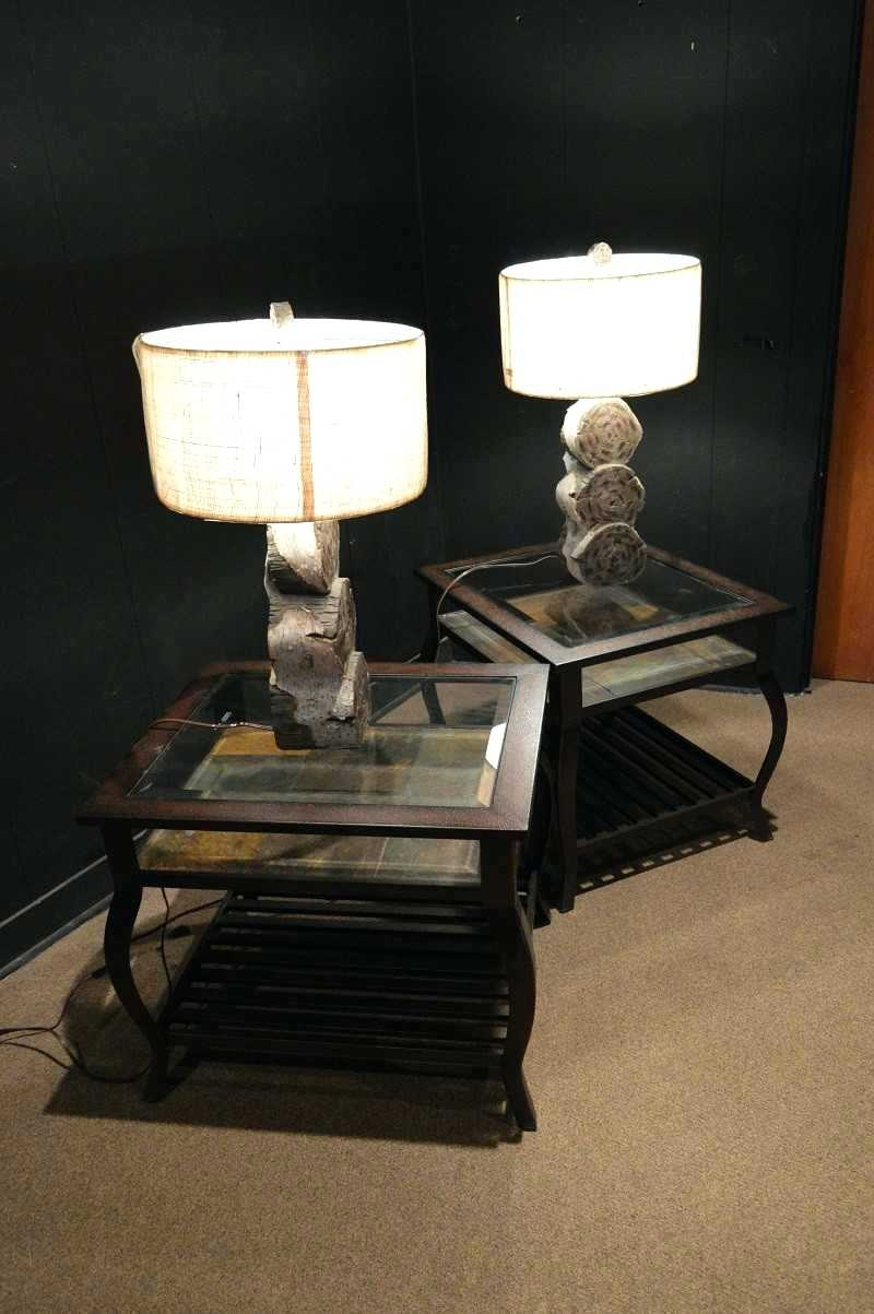Current End Table Lamps For Living Room Living Room Fascinating Wonderful With Wood Table Lamps For Living Room (View 20 of 20)