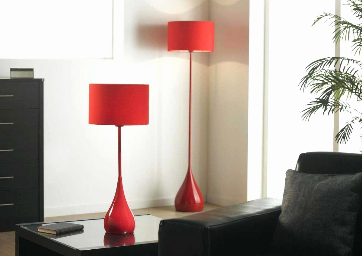 Current Lamp : Red Table Lamps Set For Living Room Family Modern Bedroom Within Red Living Room Table Lamps (View 6 of 20)