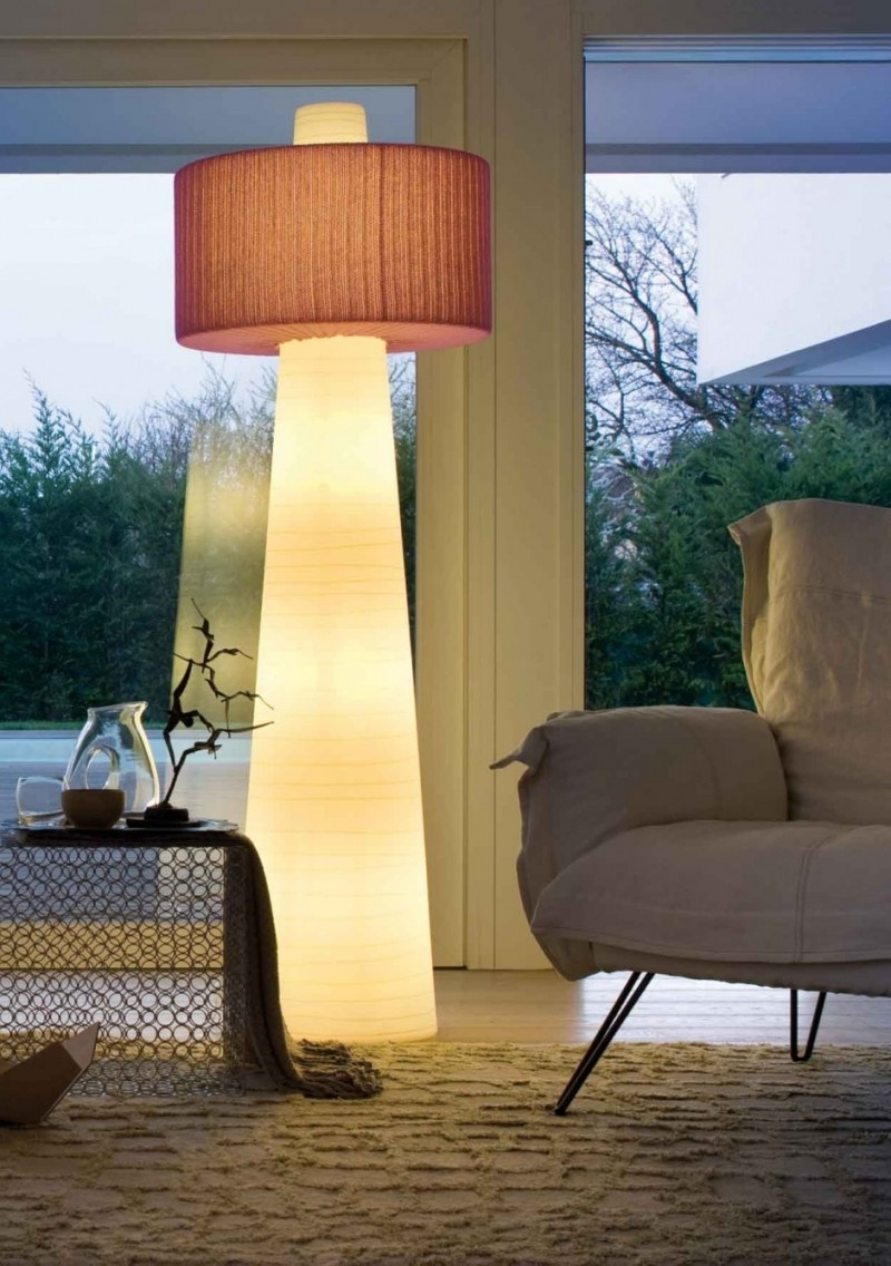 Current Modern Floor Lamp Led — Indoor & Outdoor Decor : Very Interesting For Fancy Living Room Table Lamps (View 4 of 20)