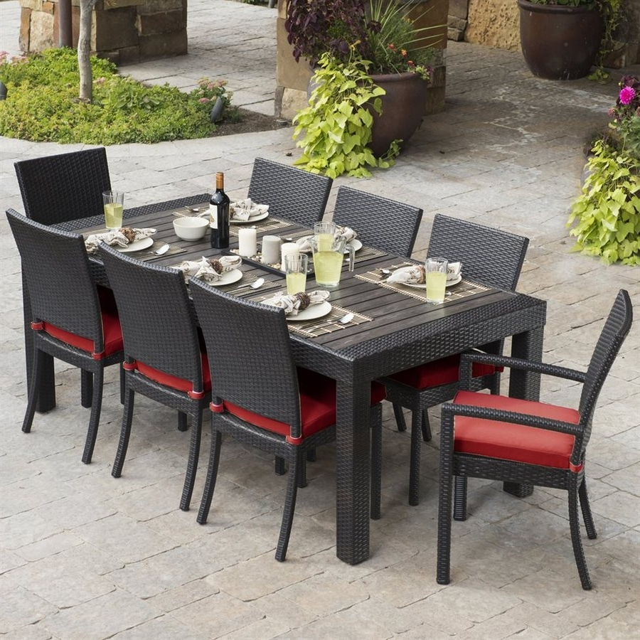 Current Patio Dining Sets – Great Way To Add The New Look To Your Patio Regarding Patio Conversation Dining Sets (View 4 of 20)