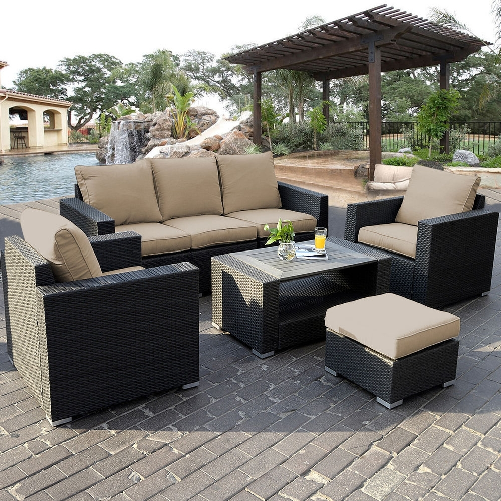 Current Patio Sofa Set S L1000 Awful Pictures Ideas Outdoor Ebay Sectional With Regard To Ebay Patio Conversation Sets (View 4 of 20)