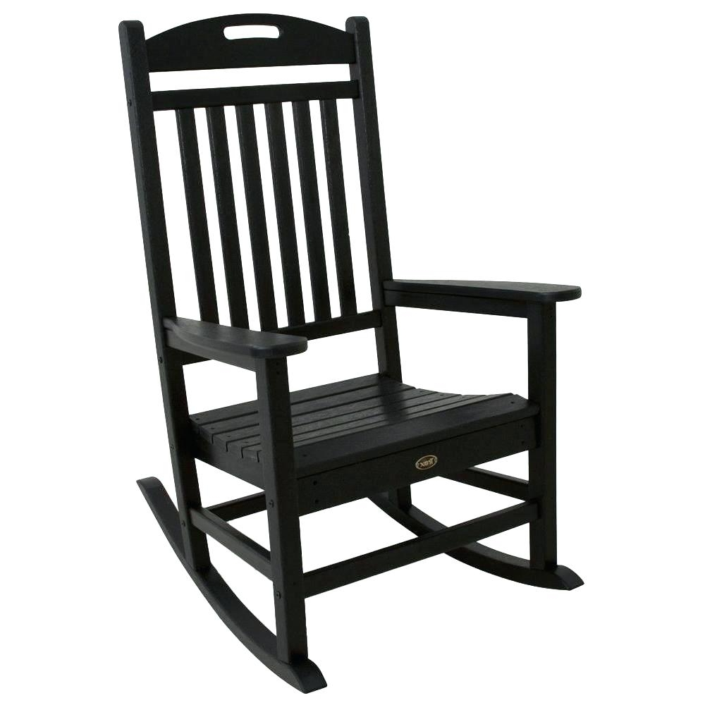 Current Rocking Chairs At Walmart For Livingroom : Amazing Chairs Outdoor Black Rocking Wooden Designs On (View 18 of 20)