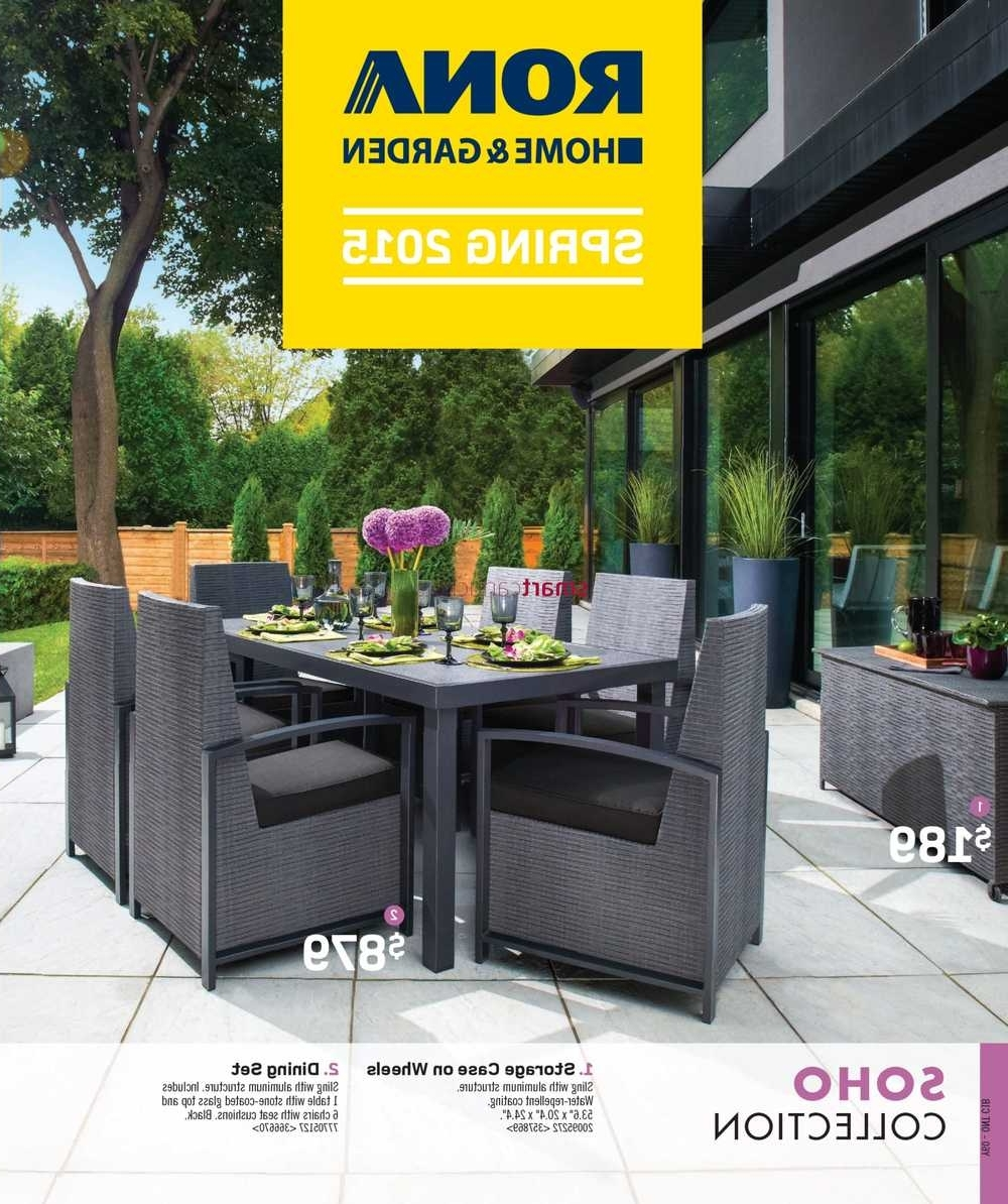 Current Rona Spring Catalogue April 9 To July 9 With Regard To Rona Patio Rocking Chairs (View 20 of 20)