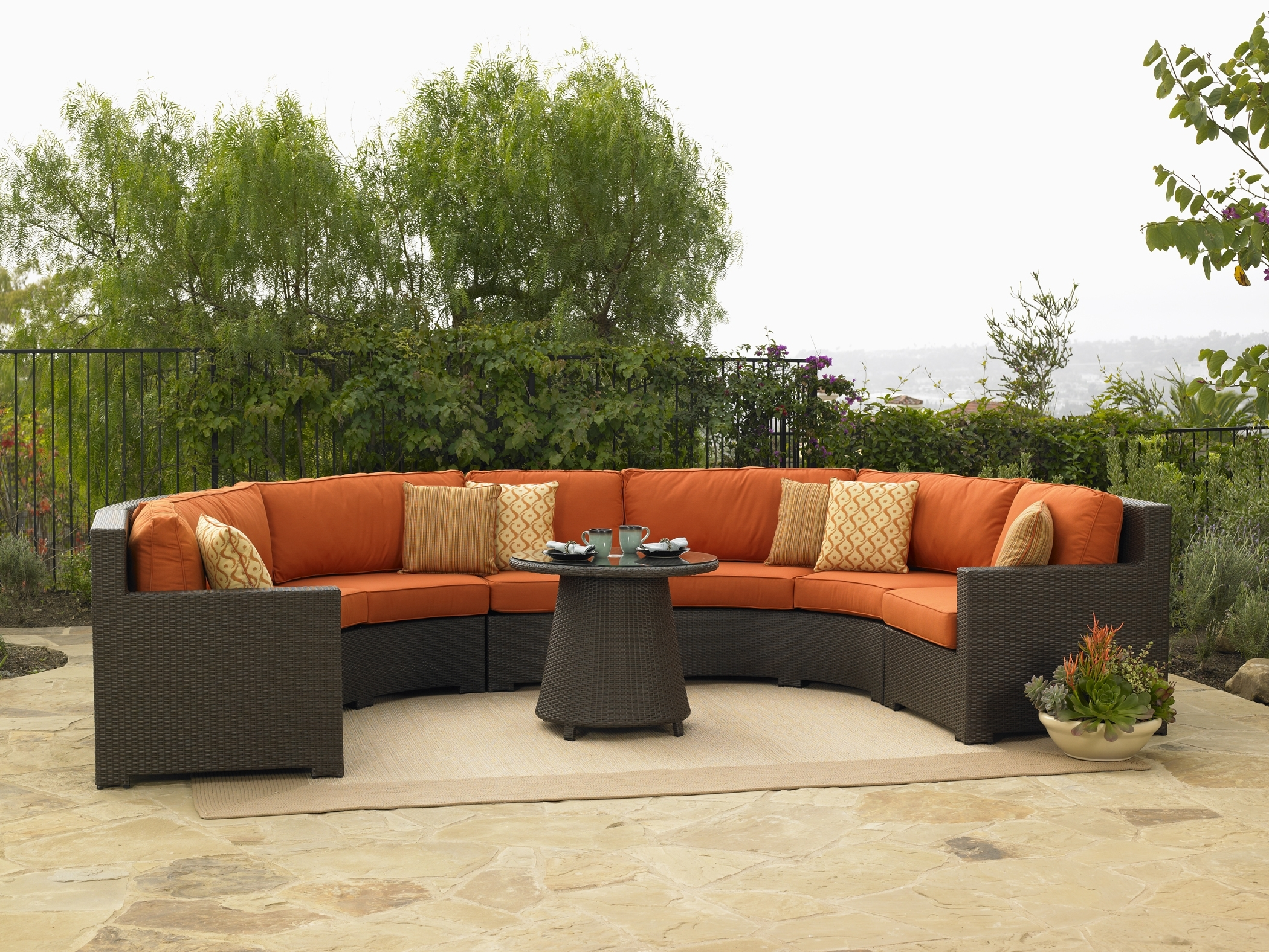 Current Sears Patio Furniture Conversation Sets Intended For Patio : Patio Furniture Sears Laz Z Boy Sectional Clearance (View 3 of 20)