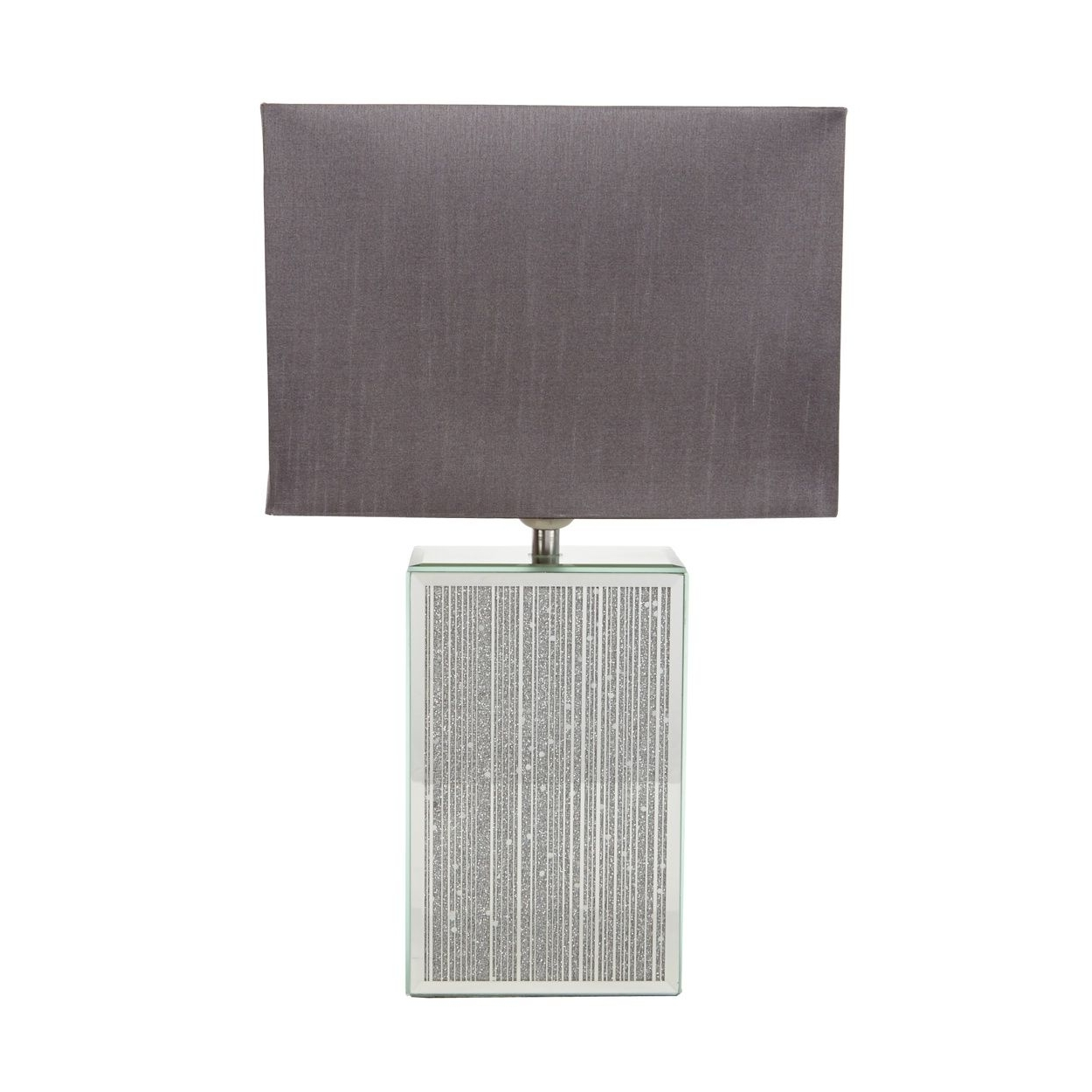 Debenhams Table Lamps For Living Room Throughout Most Popular Starjulien Macdonald Designer Glass Glitter Striped Lamp  At (View 8 of 20)