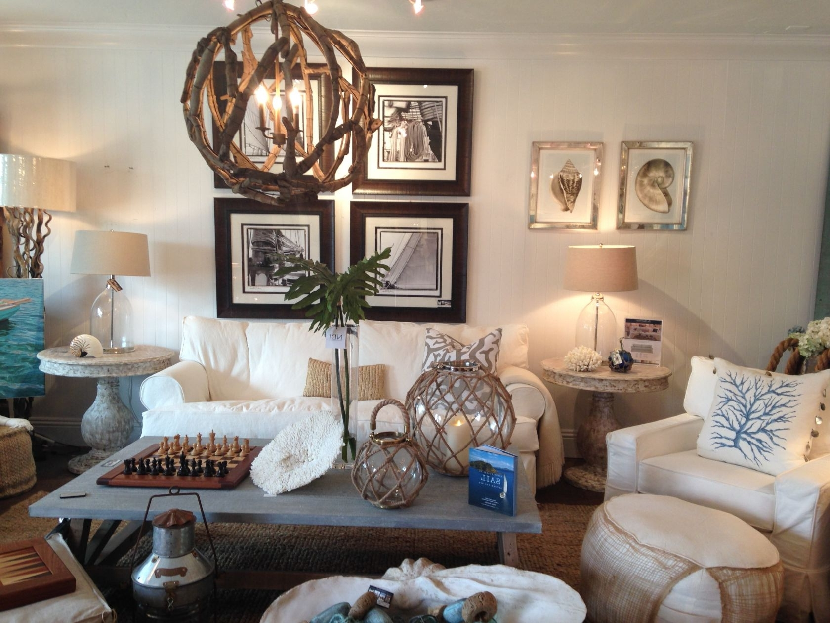 Design Tips: The Right Coastal Lighting In Latest Coastal Living Room Table Lamps (View 10 of 20)