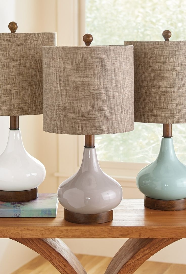 Elegant Table Lamps Living Room — Table Design : Choosing Elegant Pertaining To Latest Elegant Living Room Table Lamps (View 6 of 20)