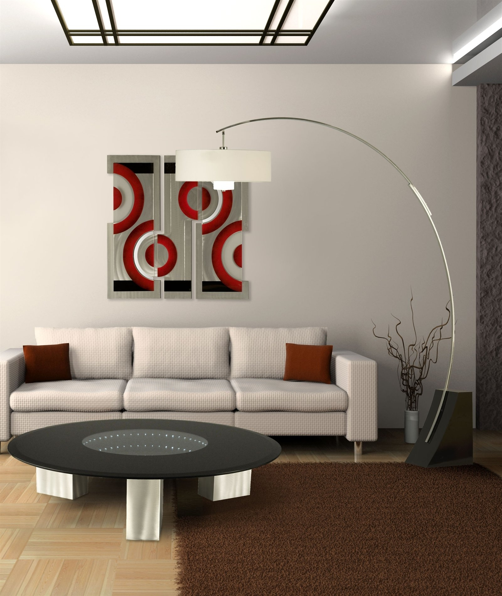 Fabulous Living Room Floor Lamps Inside Most Recent Brown Living Room Table Lamps (View 7 of 20)