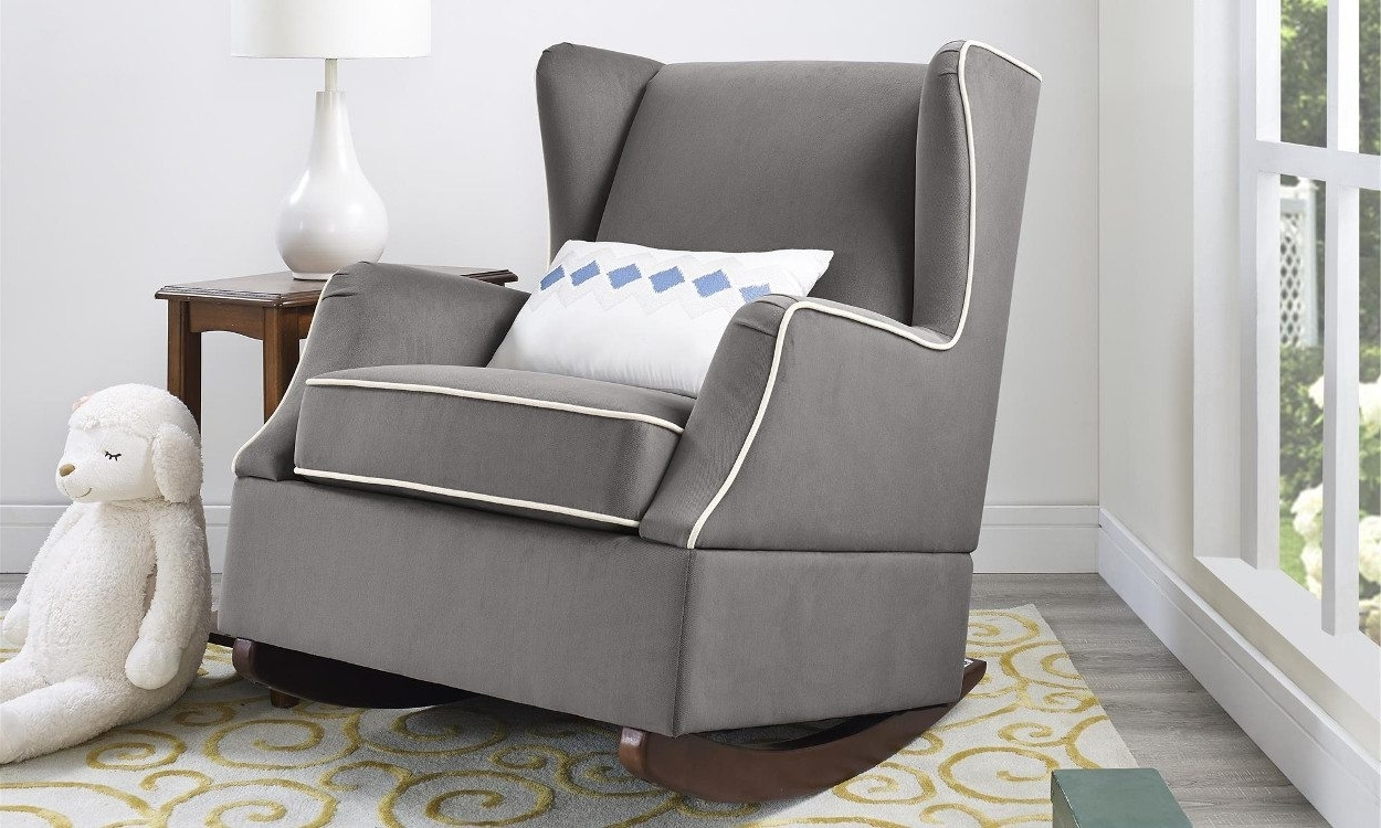 Famous 4 Steps For Buying The Perfect Rocking Chair – Overstock Intended For Upholstered Rocking Chairs (View 2 of 20)