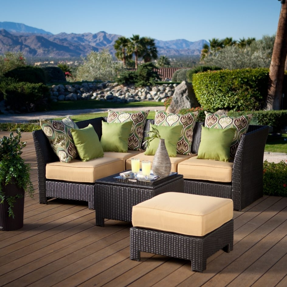 Famous Beautiful Outdoor Conversation Patio Sets 24 Resin Wicker Chairs Throughout Resin Conversation Patio Sets (View 12 of 20)