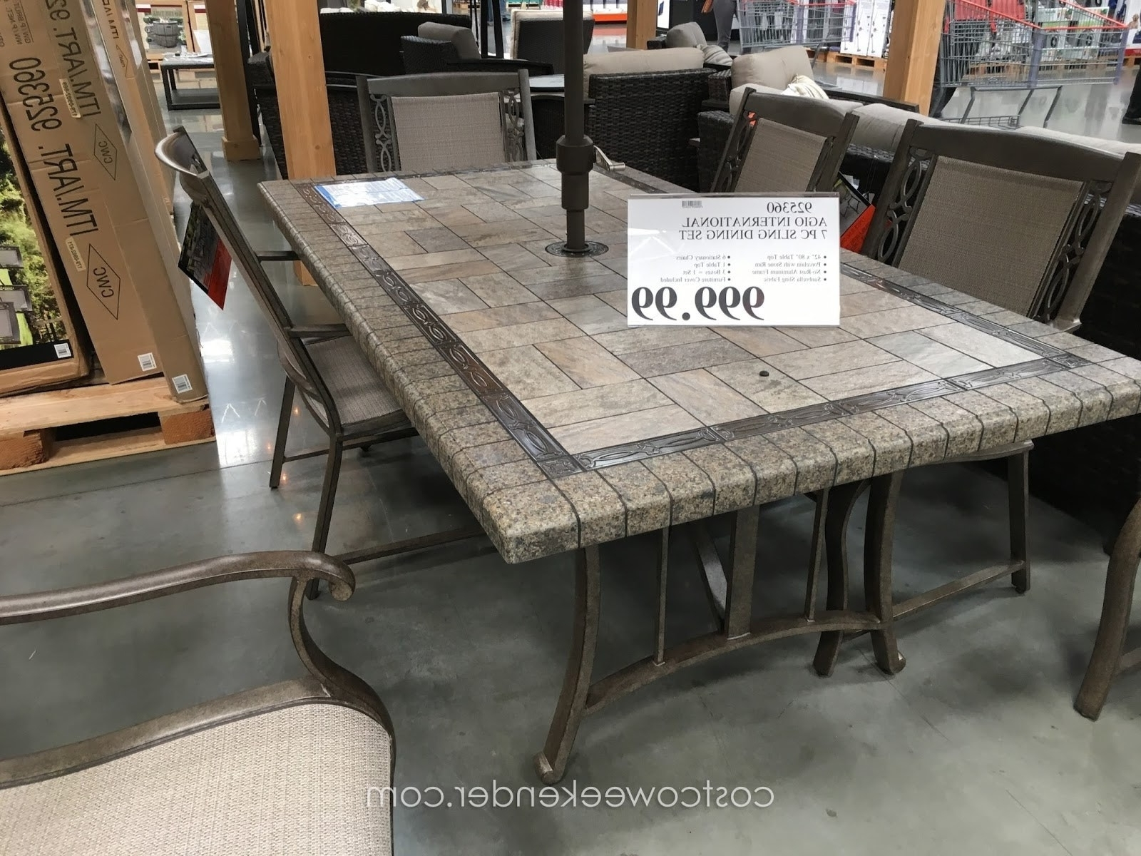 Famous Costco Patio Conversation Sets For Patio Dining Sets Costco Classy Patio Ideas Aluminum Patio Furniture (View 3 of 20)