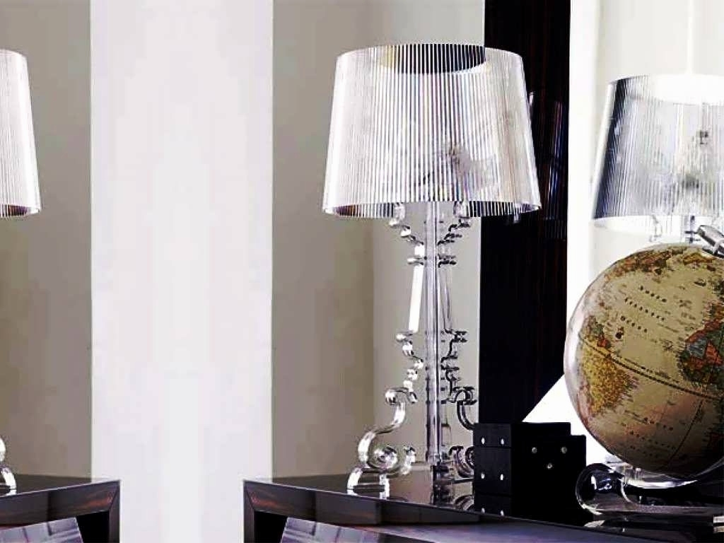 Famous Glass Living Room Table Lamps Throughout Glass Table Lamps For Living Room – Living Room Ideas (View 3 of 20)