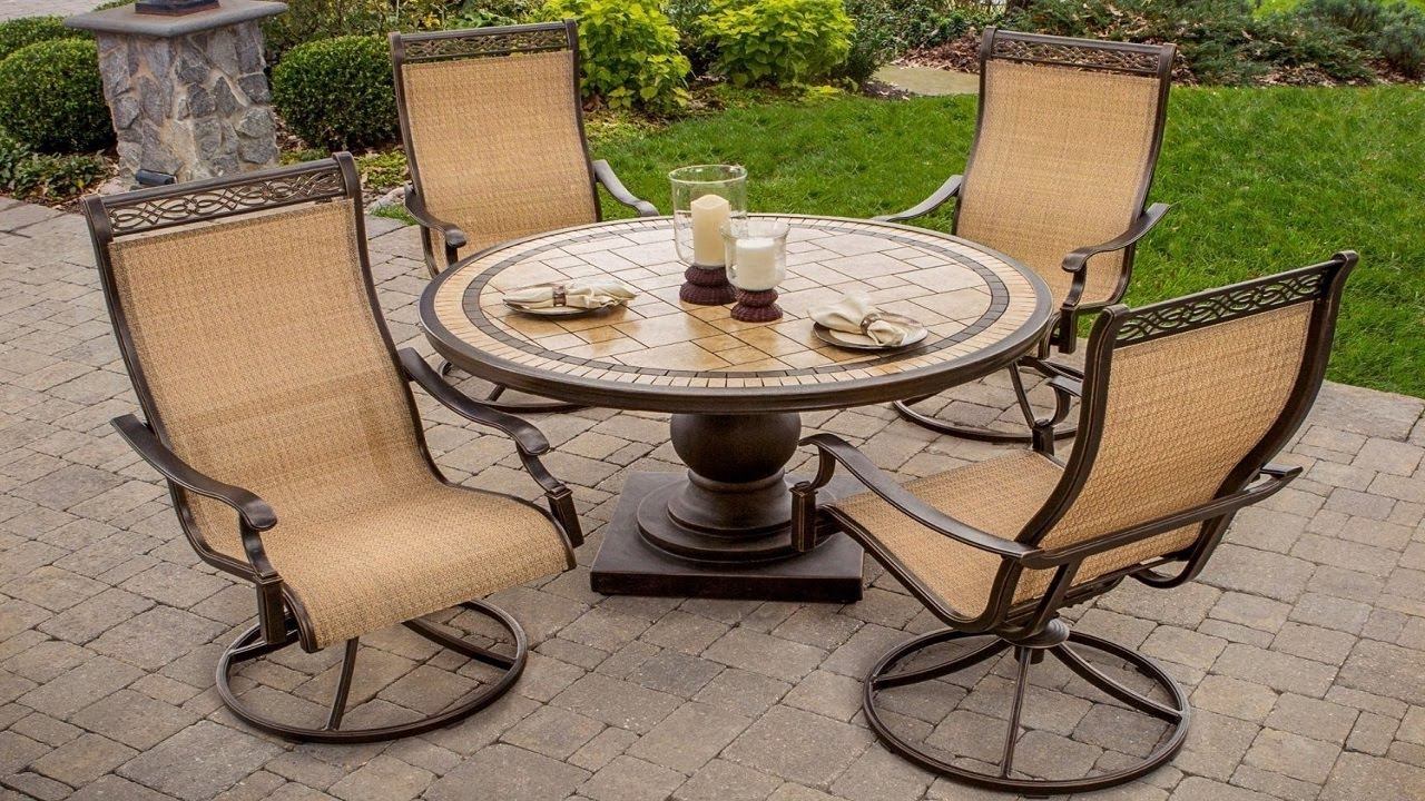 Famous Outdoor Swivel Rocker Arm Chairs : Sathoud Decors – Outdoor Swivel Within Patio Conversation Sets With Rockers (View 8 of 20)