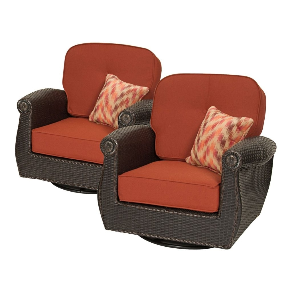 Famous Patio Rocking Chairs With Ottoman Regarding Swivel Rocking Chairs For Patio Outdoor Goods Rocker With Ottoman (View 5 of 20)