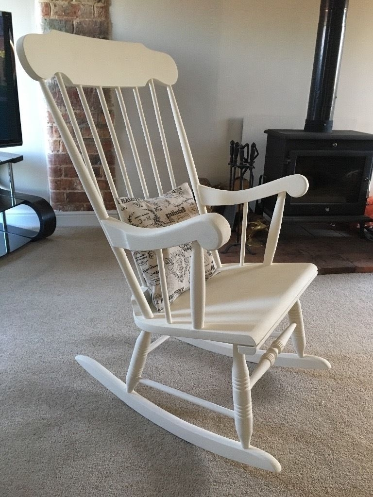 Famous Rocking Chairs At Gumtree Regarding Upcycled Rocking Chair Lincoln Lincolnshire Gumtree Glasgow Outdoor (View 3 of 20)