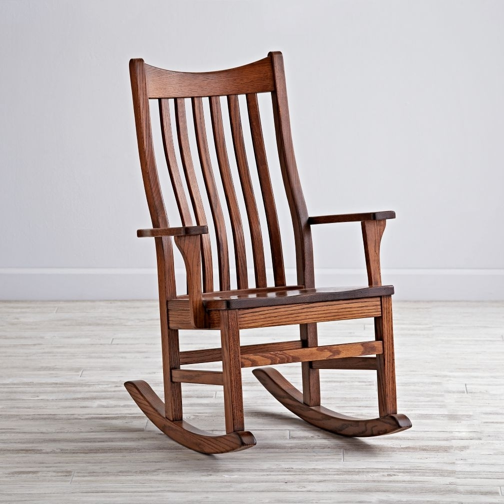 Famous Rocking Chairs For Adults Regarding Wooden Kids Rocking Chair : New Kids Furniture – How To Repair Kids (View 4 of 20)