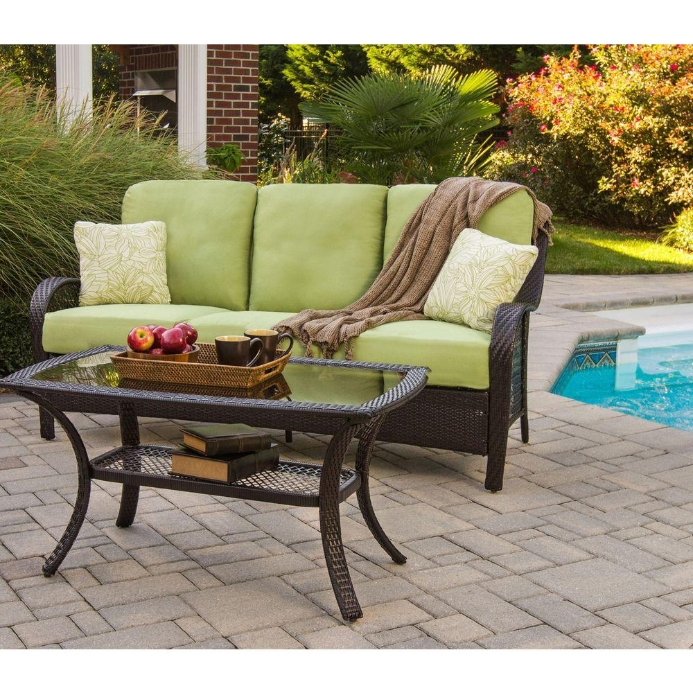 Famous Wood – Patio Conversation Sets – Outdoor Lounge Furniture – The Home Pertaining To Patio Furniture Conversation Sets At Home Depot (View 3 of 20)