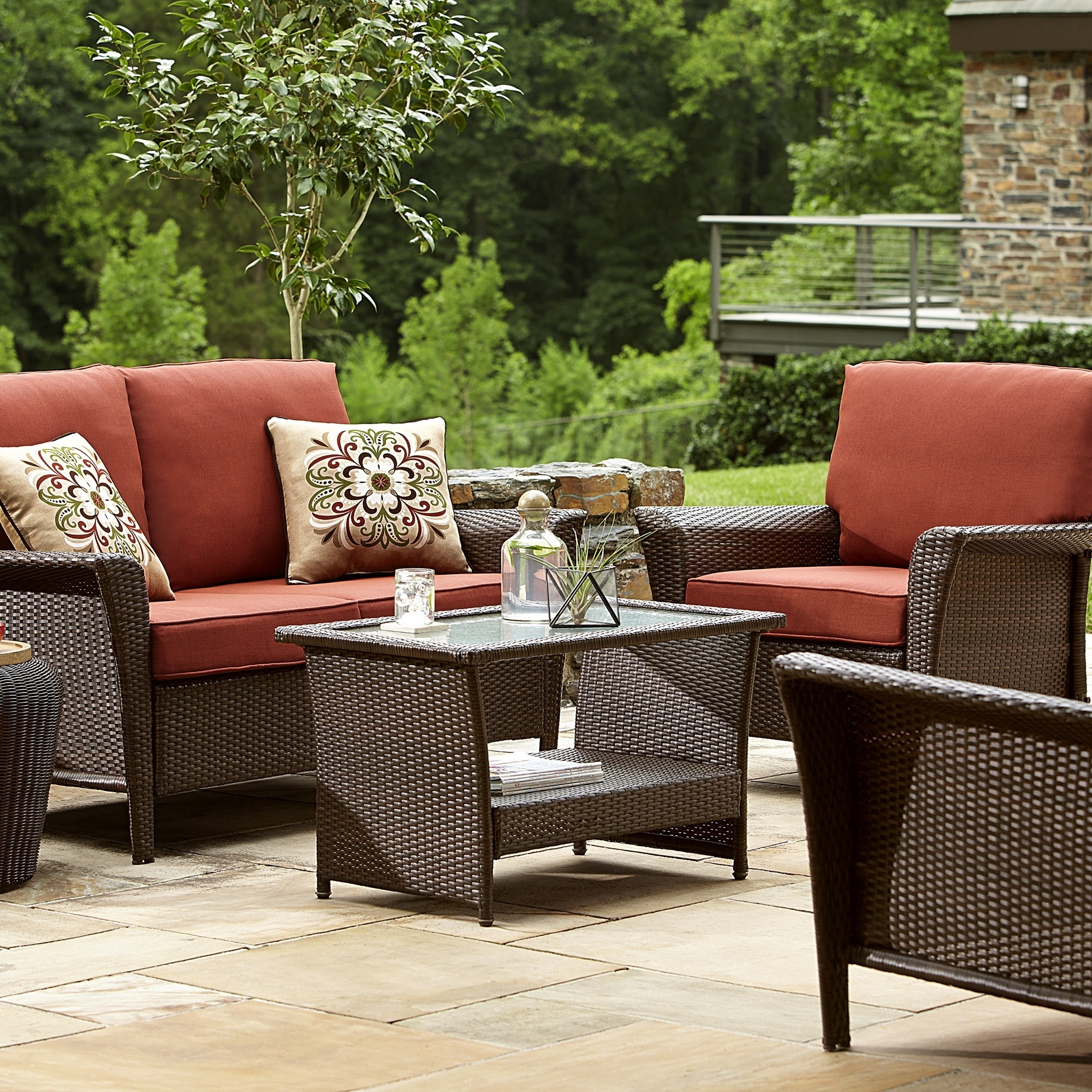 Fantastic Deep Seating Patio Furniture Clearance Dã©cor Gallery In Favorite Sears Patio Furniture Conversation Sets (View 5 of 20)