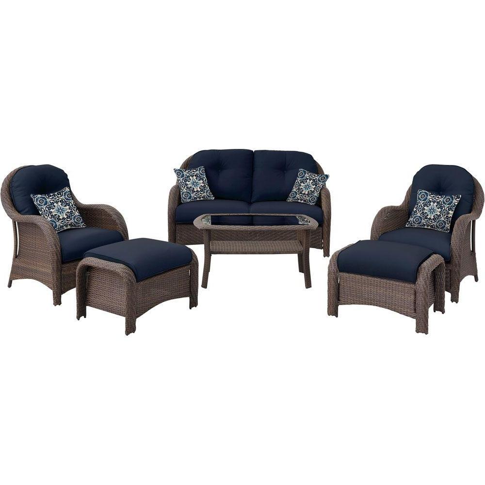 Fashionable Blue Patio Conversation Sets Inside Patio Furniture With Blue Cushions Unique Blue Patio Conversation (View 19 of 20)