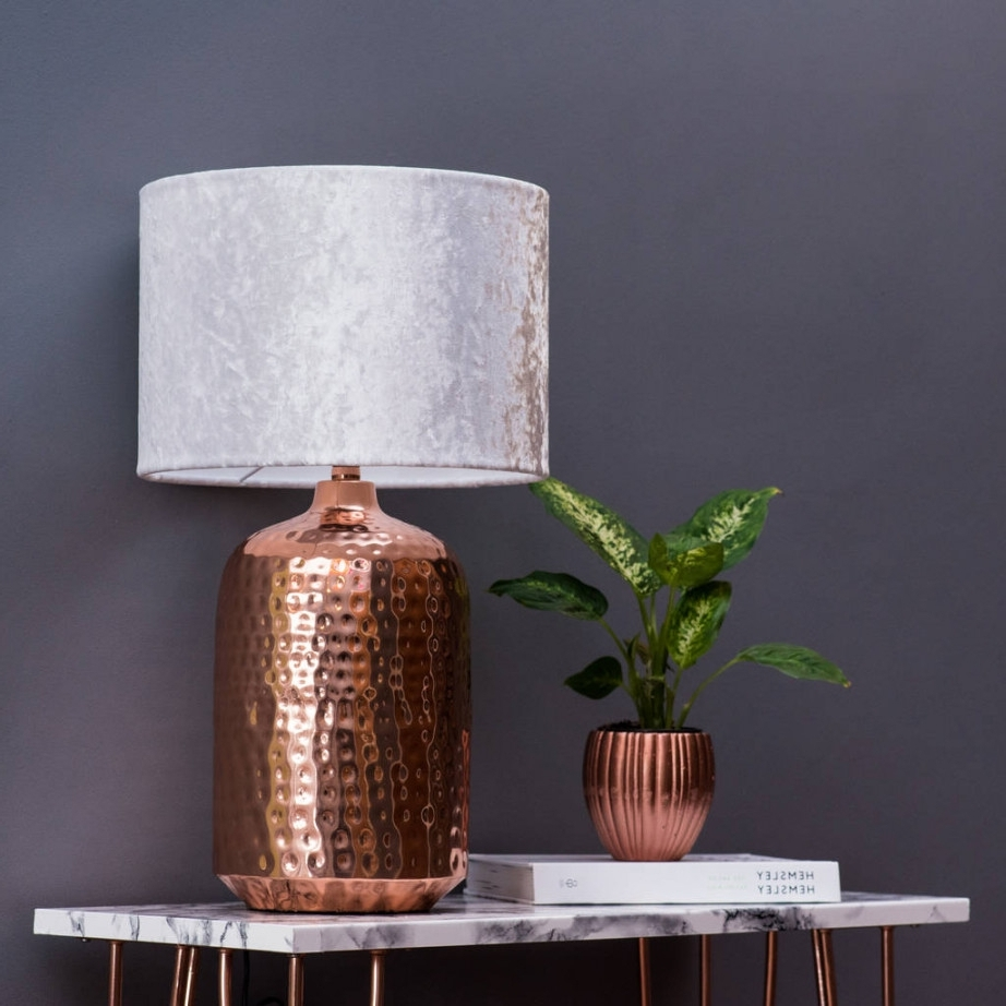 Fashionable Copper Table Lamp Torchiere Lamps Target For Living Room Modern Uk Intended For Living Room Table Lamps At Target (View 3 of 20)