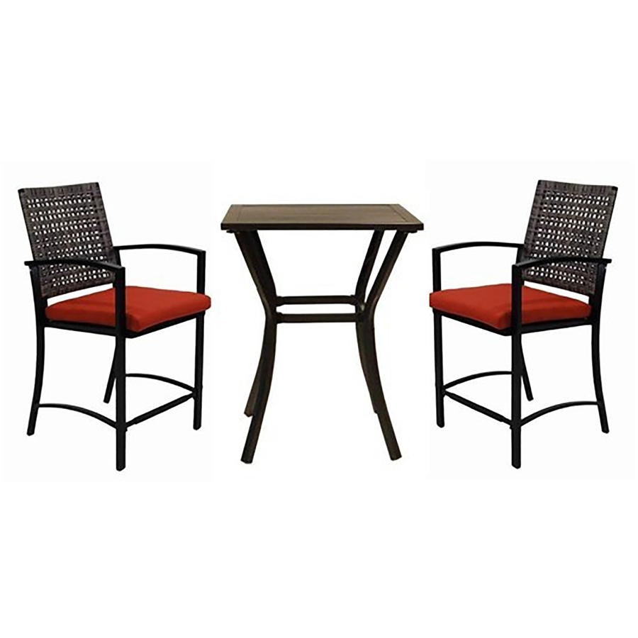 Fashionable Grande Pembrey Patio Bistro Sets Patio Furniture Patio Furniture To For Garden Treasures Patio Conversation Sets (View 15 of 20)