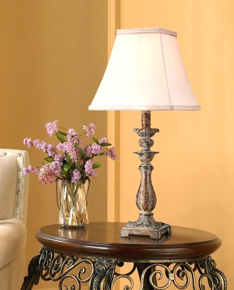 Fashionable Modern Ideas Country Lamps For Living Room French Country Floor Lamp Inside Country Living Room Table Lamps (View 10 of 20)