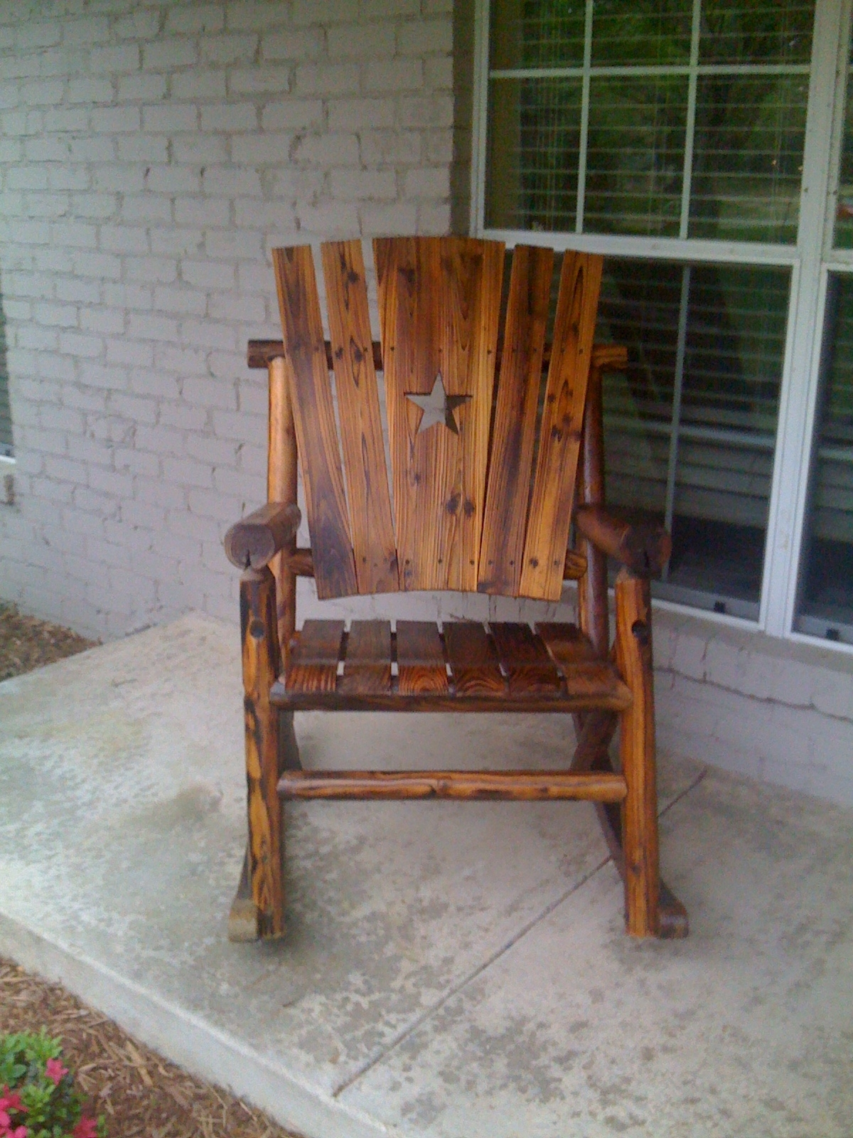 Fashionable Rocking Chair Outdoor Wooden Throughout Outdoor Wooden Rocking Chairs Models : Pleasure Outdoor Wooden (View 4 of 20)