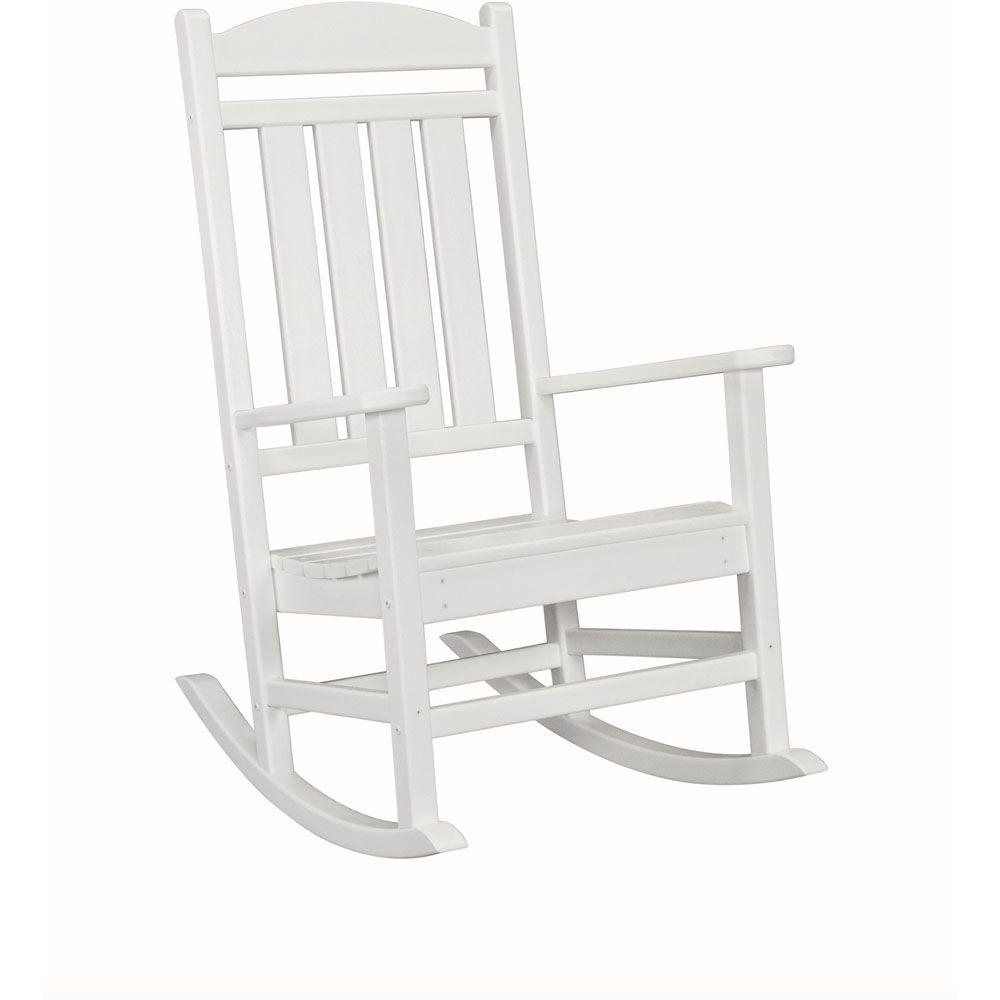 Fashionable Rocking Chairs At Home Depot For Wood – Rocking Chairs – Patio Chairs – The Home Depot (View 10 of 20)