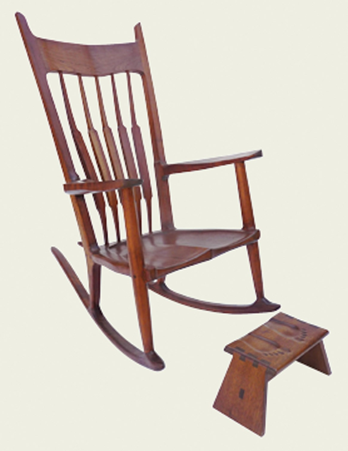Fashionable Rocking Chairs With Footstool Throughout Nancy's Rocker & Footstool Plan Fox Chapel Publishing (View 15 of 20)