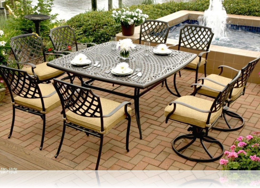 Favorite Patio Conversation Sets At Sears Throughout Patio : Sears Patio Furniture Sets Unbelievable Photo Ideas Dining (View 2 of 20)