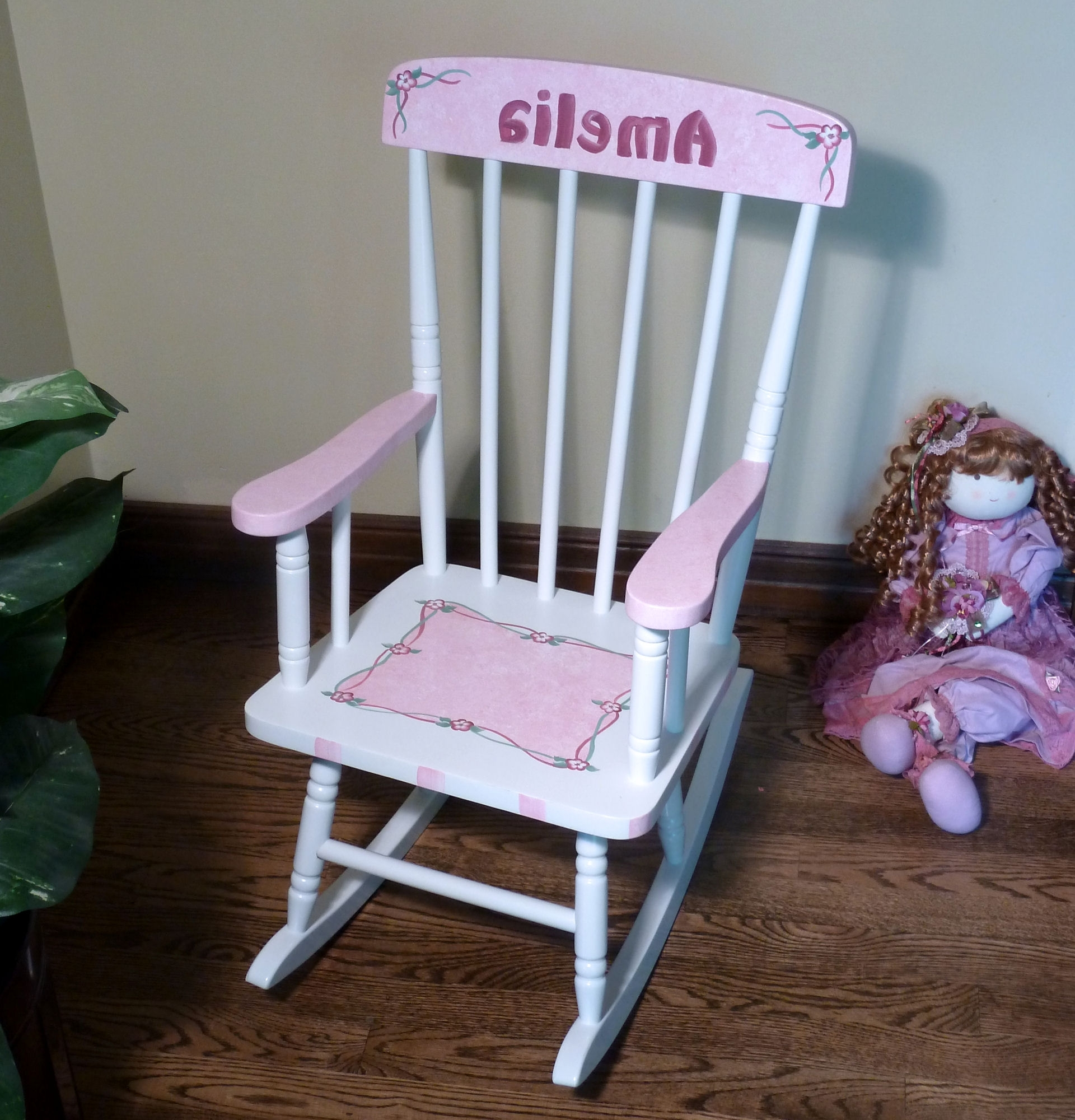 Favorite Rocking Chairs For Toddlers Throughout Easter Chair Table And Chairs Child Size Rocking Chair Plans For (View 14 of 20)