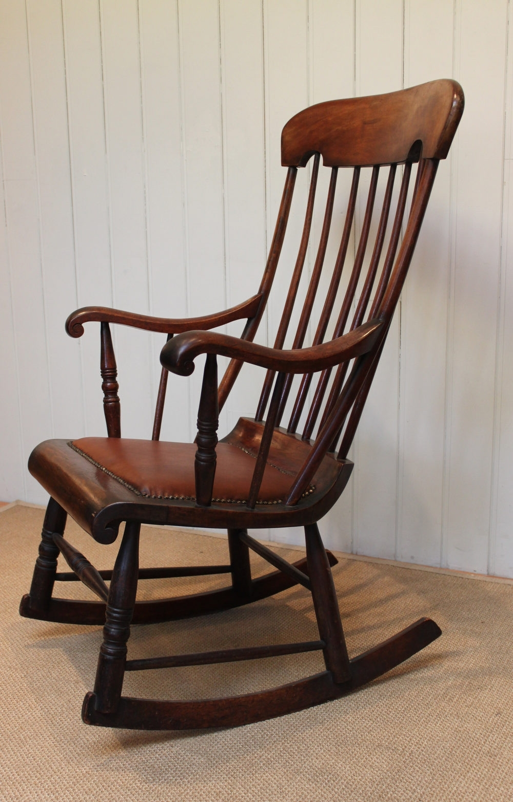 Favorite Victorian Fruitwood Rocking Chair – Antiques Atlas For Victorian Rocking Chairs (View 8 of 20)