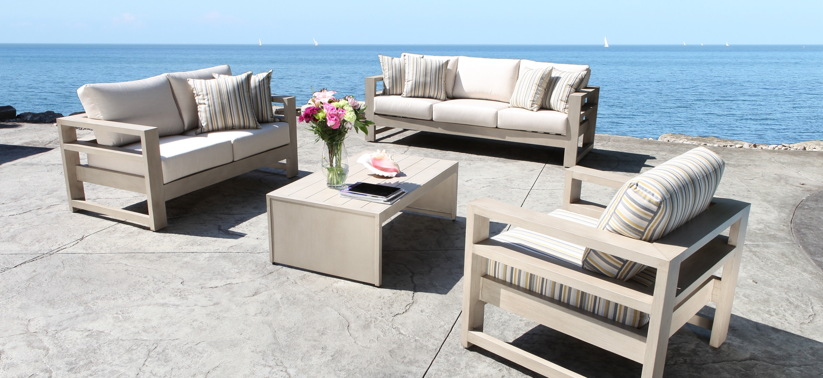 Faylinnart Inside Wood Patio Furniture Conversation Sets (View 20 of 20)
