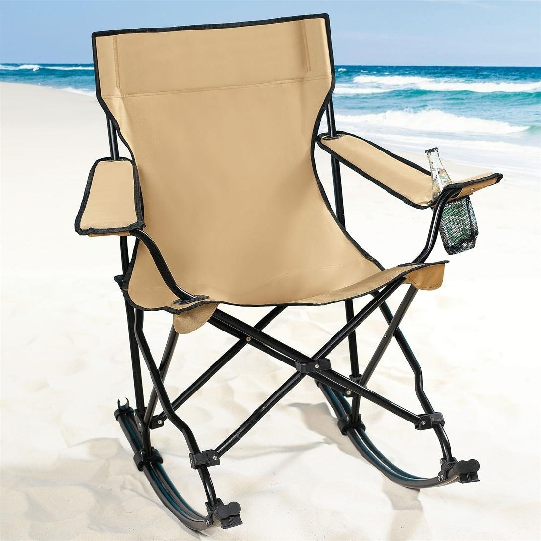 Folding Rocking Chair For Camping : Functional Folding Rocking Chair Throughout Recent Folding Rocking Chairs (View 9 of 20)