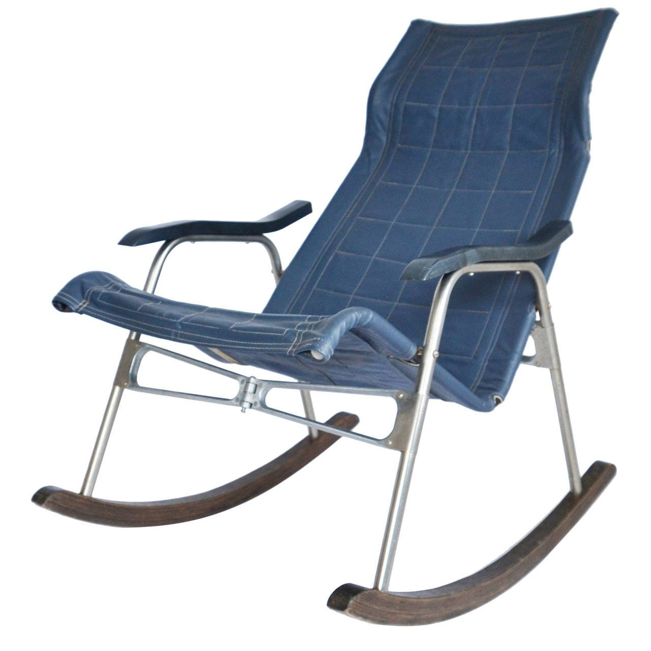 Folding Rocking Chairtakeshi Nii, Japan, 1950S For Sale At 1Stdibs Intended For 2018 Folding Rocking Chairs (View 11 of 20)