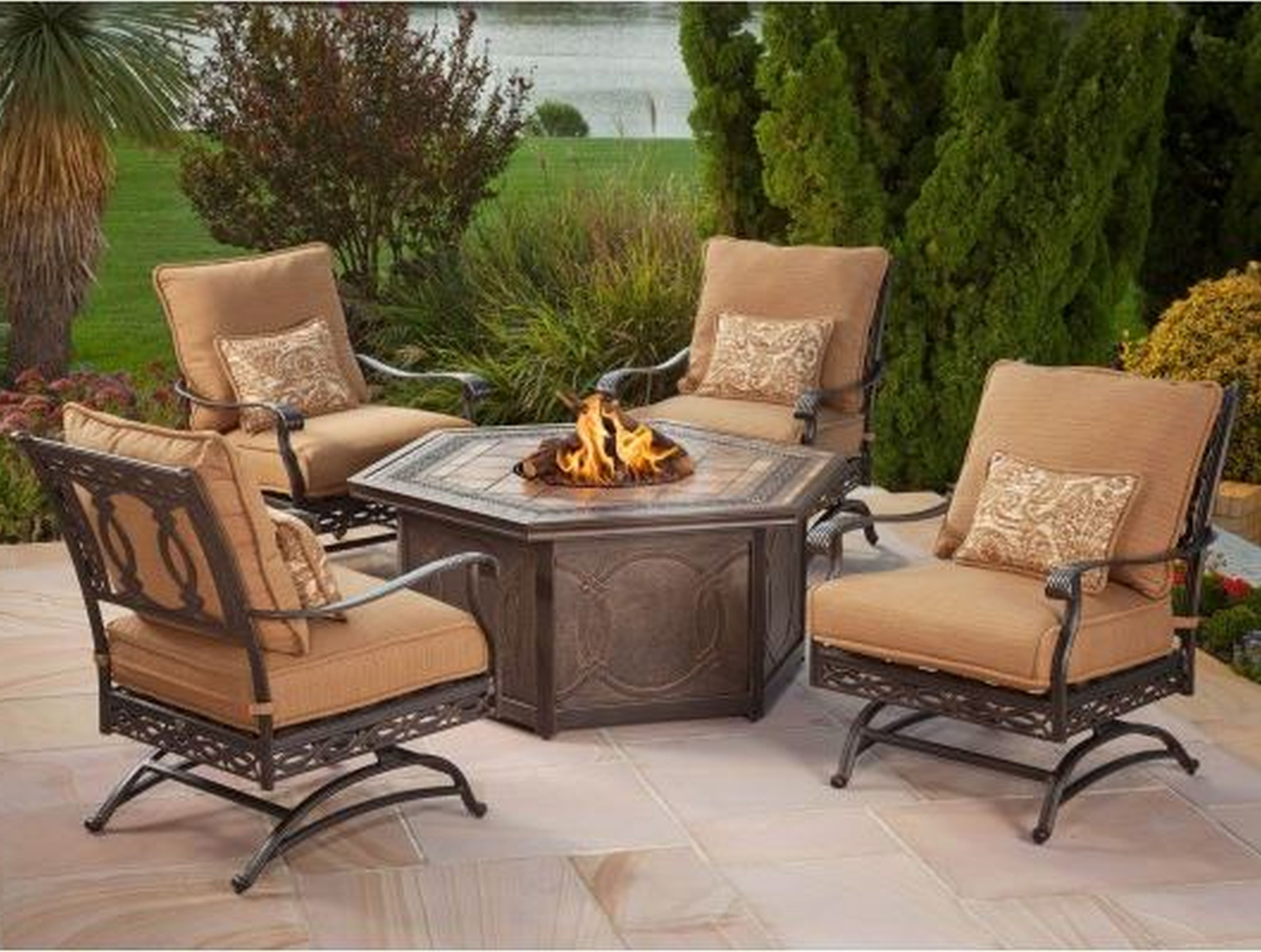 Fortune Lowes Outdoor Furniture Clearance Patio Home Design With Regard To Best And Newest Patio Conversation Sets At Lowes (View 6 of 20)