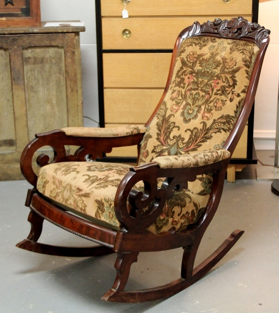 Found In Ithaca » Victorian Rocker (Sold) With Regard To 2018 Victorian Rocking Chairs (View 7 of 20)